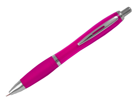 Full Colour Curvy Pens Coloured Barrel Promotional