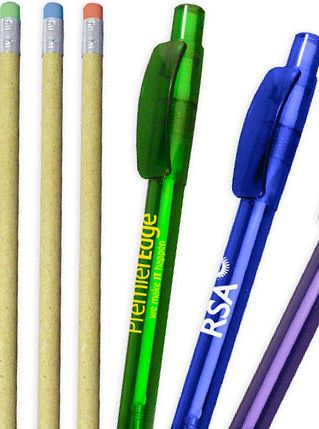 Recycled Eco Pens & Pencils