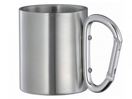 Carabiner Stainless Steel Travel Mugs