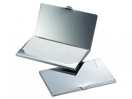 Chrome Business Card Holders