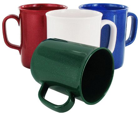 Non Chip Recycled Mugs