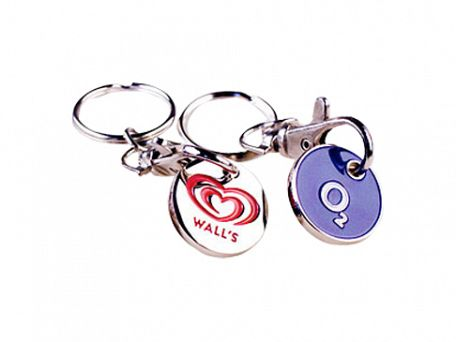 Metal Trolley Keyrings
